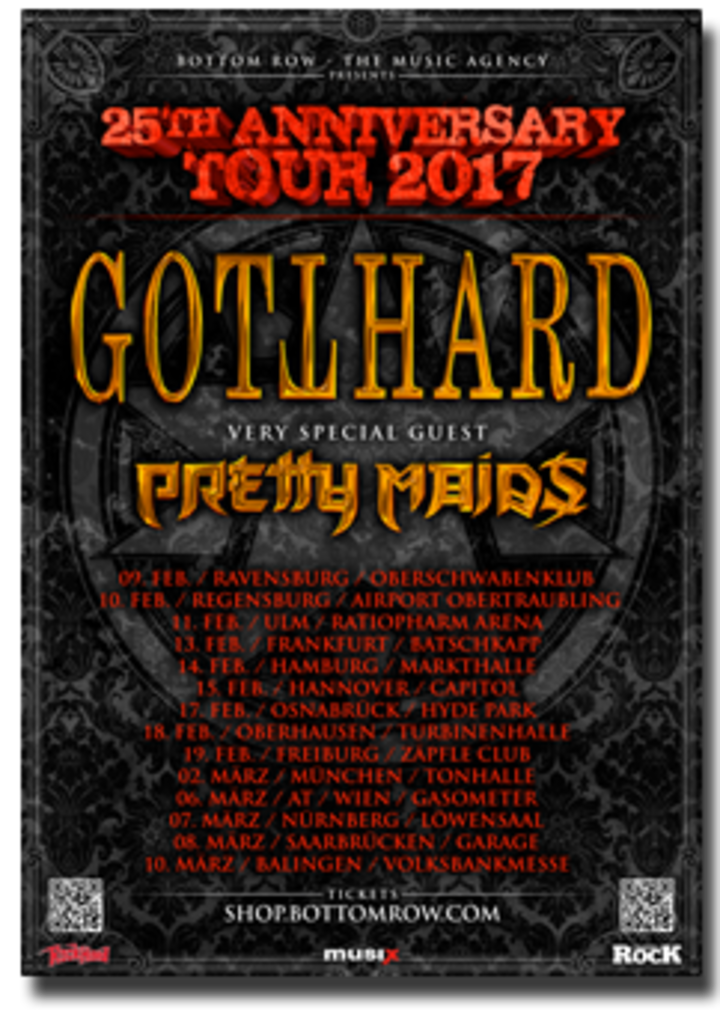 Gotthard @ Capitol - Hannover, Germany