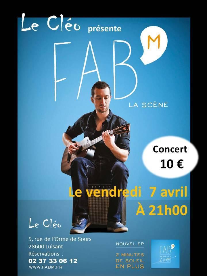 Fab' M @ Le Cléo - Luisant, France