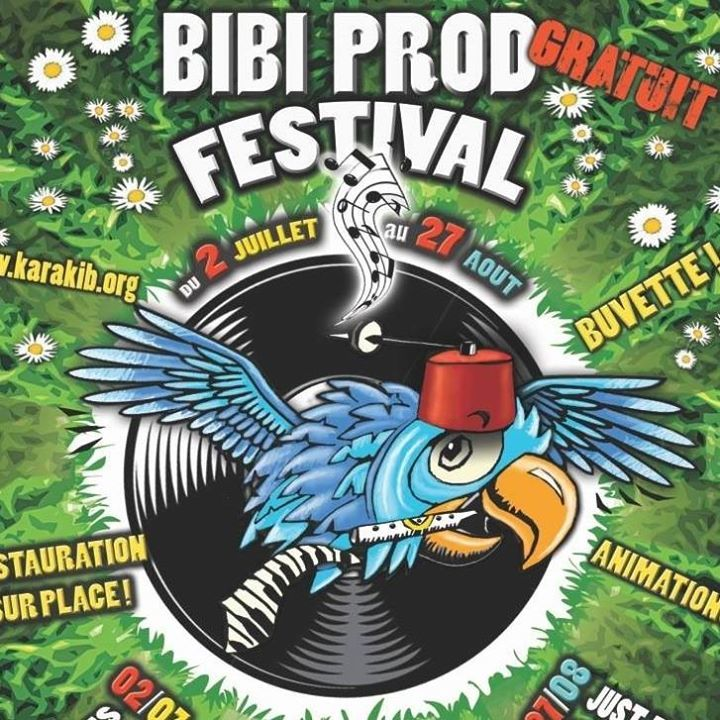 BiBi PROD Festival Tour Dates