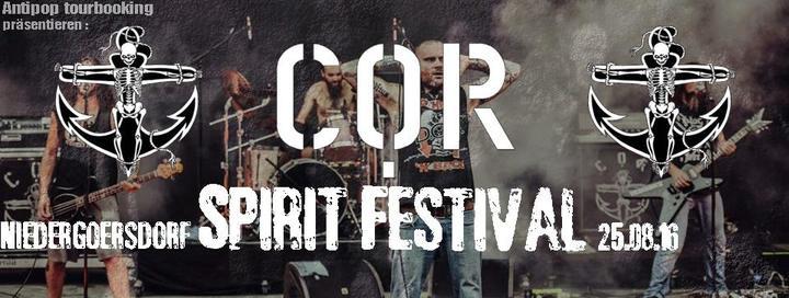 COR @ Spirit from the Streets Festival - Niedergorsdorf, Germany