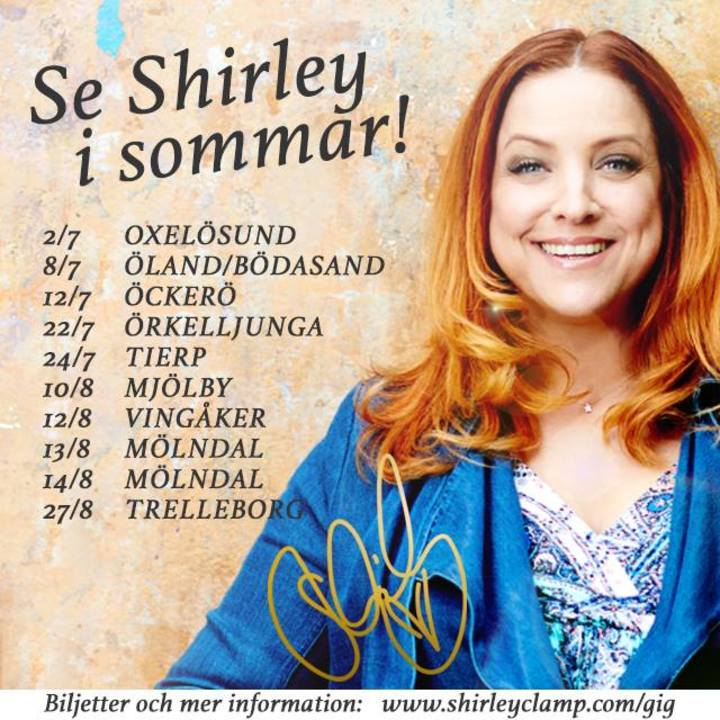 Shirley Clamp Tour Dates