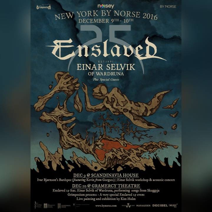 Enslaved @ Gramarcy Theatre - New York, NY