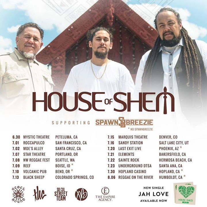 House of Shem Tour Dates