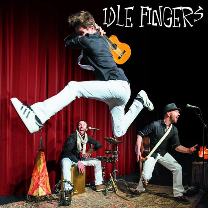 Idle Fingers @ Churchill's  - Brussels, Belgium