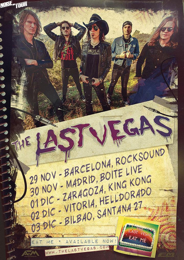 The Last Vegas @ Rocksound - Barcelona, Spain
