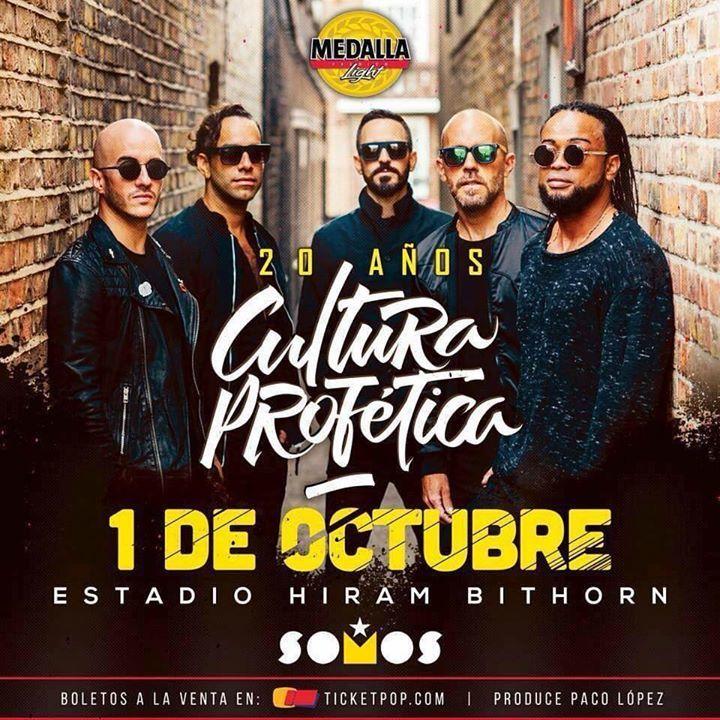 Cultura Profética @ CULTURA PROFÉTICA Y DAMIAN MARLEY - San Juan, PR