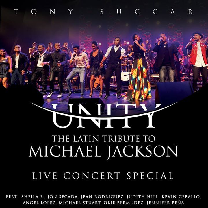Unity : Latin Tribute to Michael Jackson Tour Dates