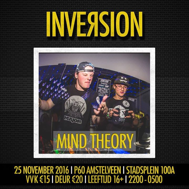 Mind Theory Tour Dates