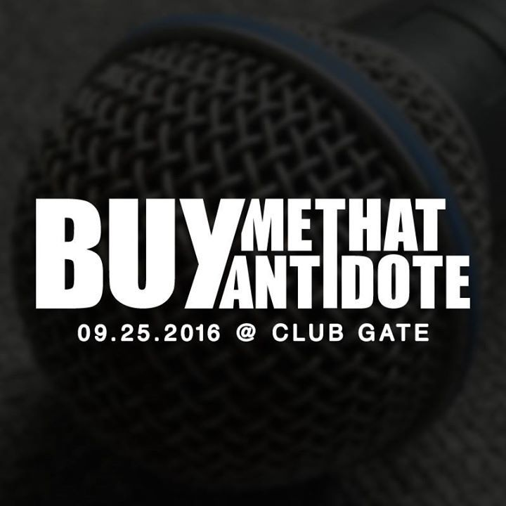 Buy Me That Antidote Tour Dates