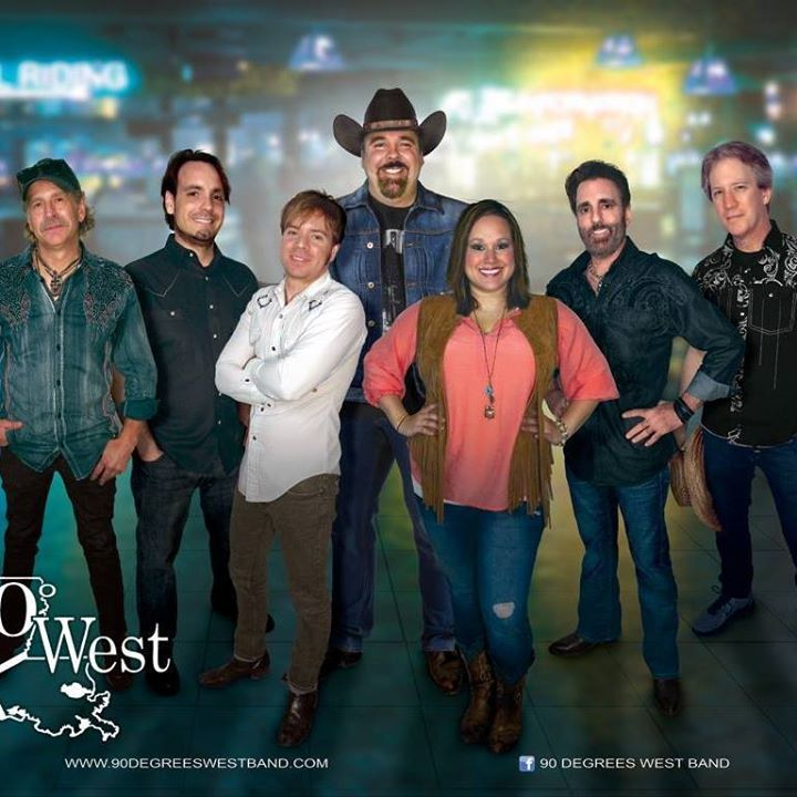 90 Degrees West Band Tour Dates
