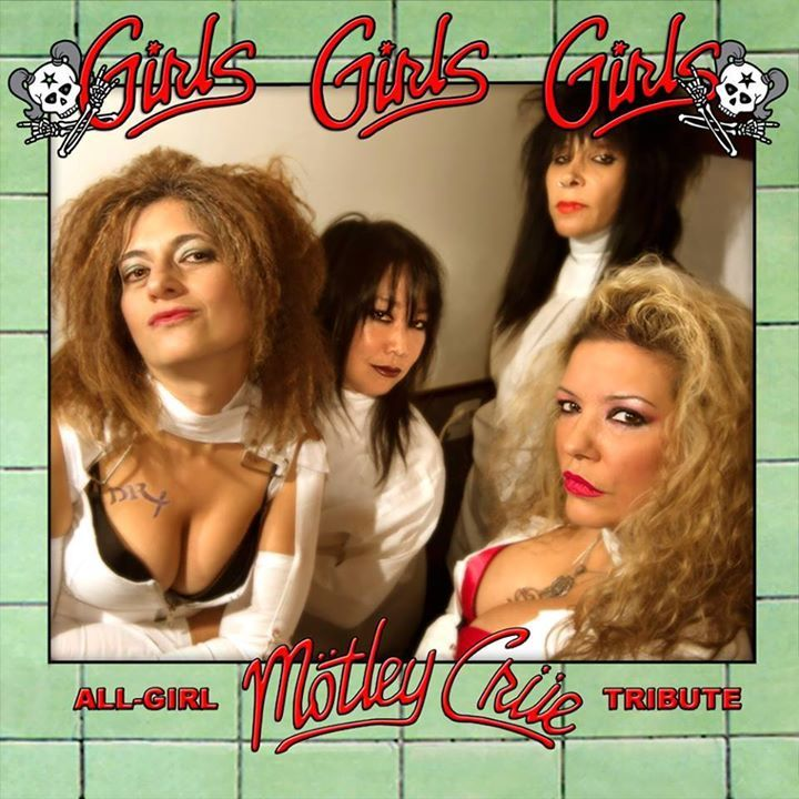 Girls Girls Girls All Girl Tribute, Mexico 2014 Tour Dates