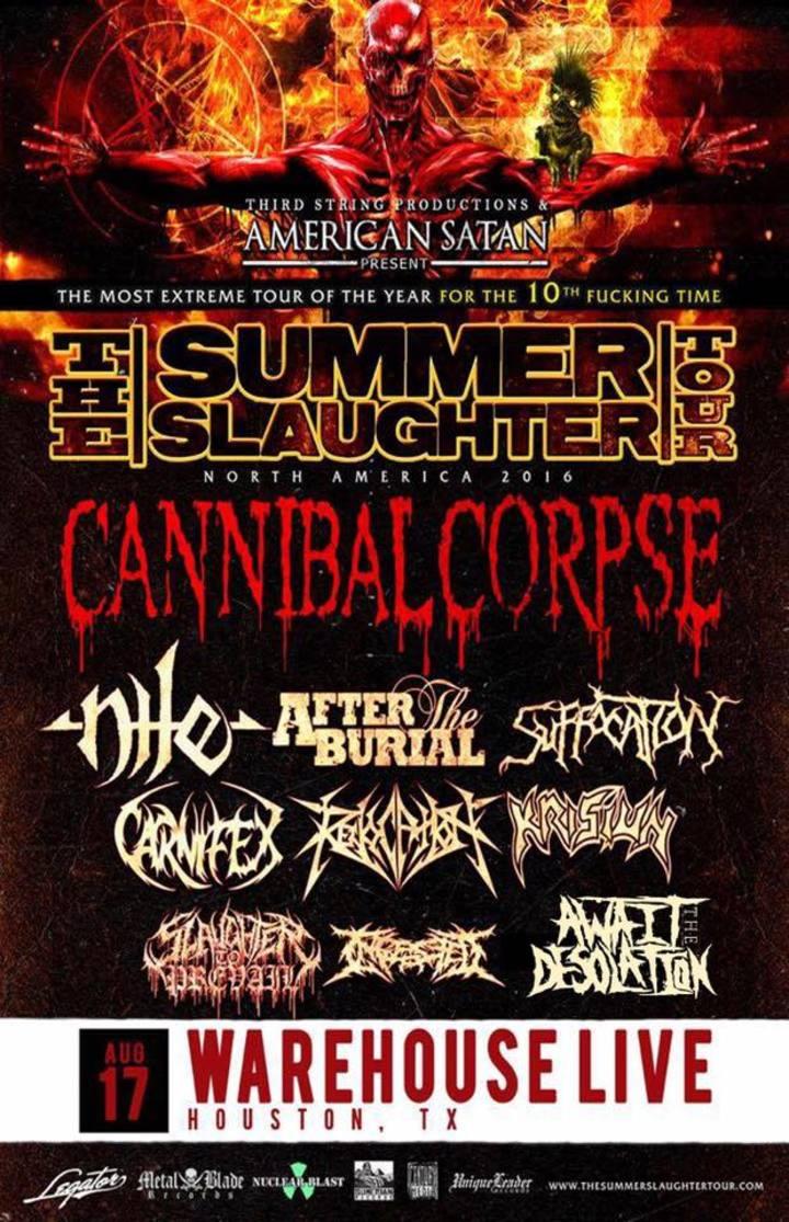 Await The Desolation Tour Dates