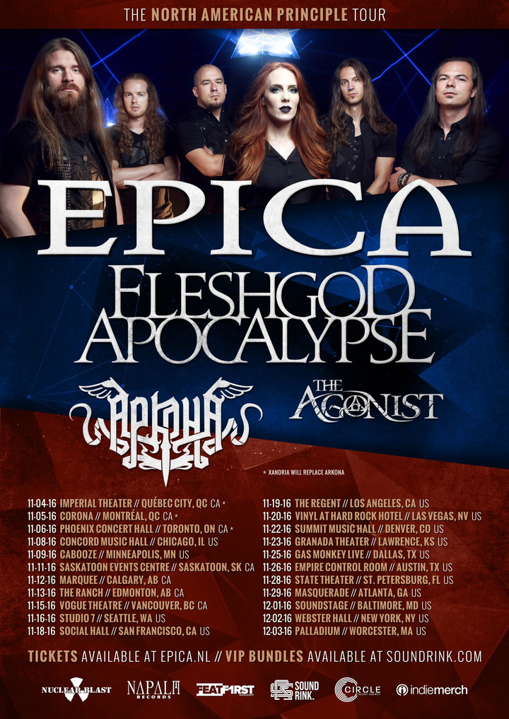 Arkona @ State Theater - St. Petersburg, FL