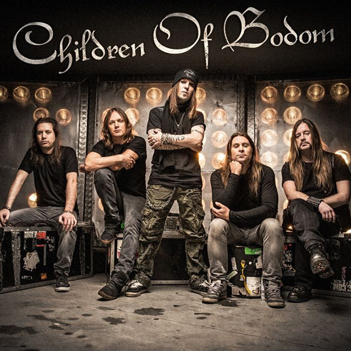 Children of Bodom @ Paradise Garage - Lisbon, Portugal