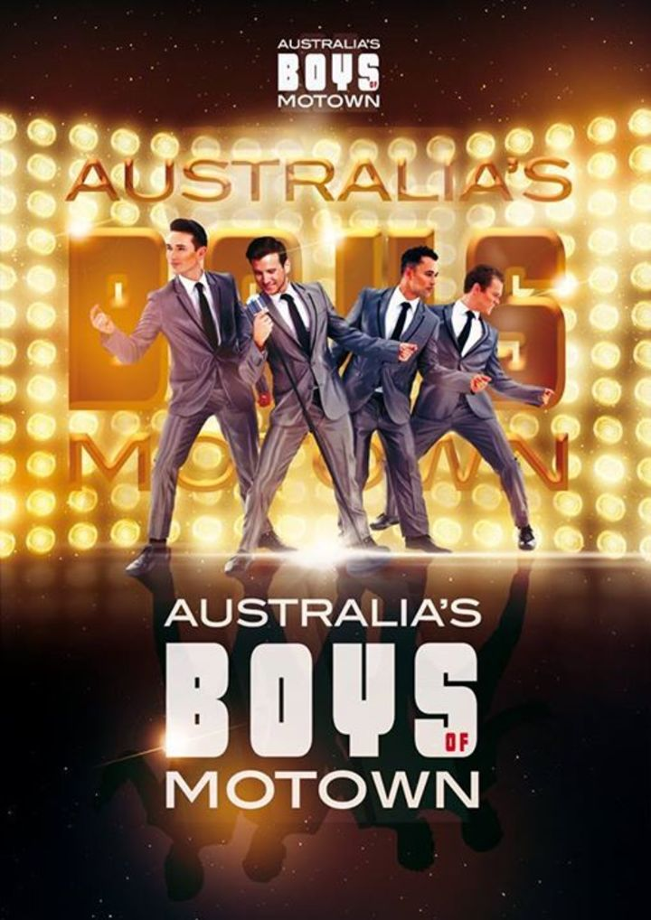 Australia's Boys of Motown Tour Dates