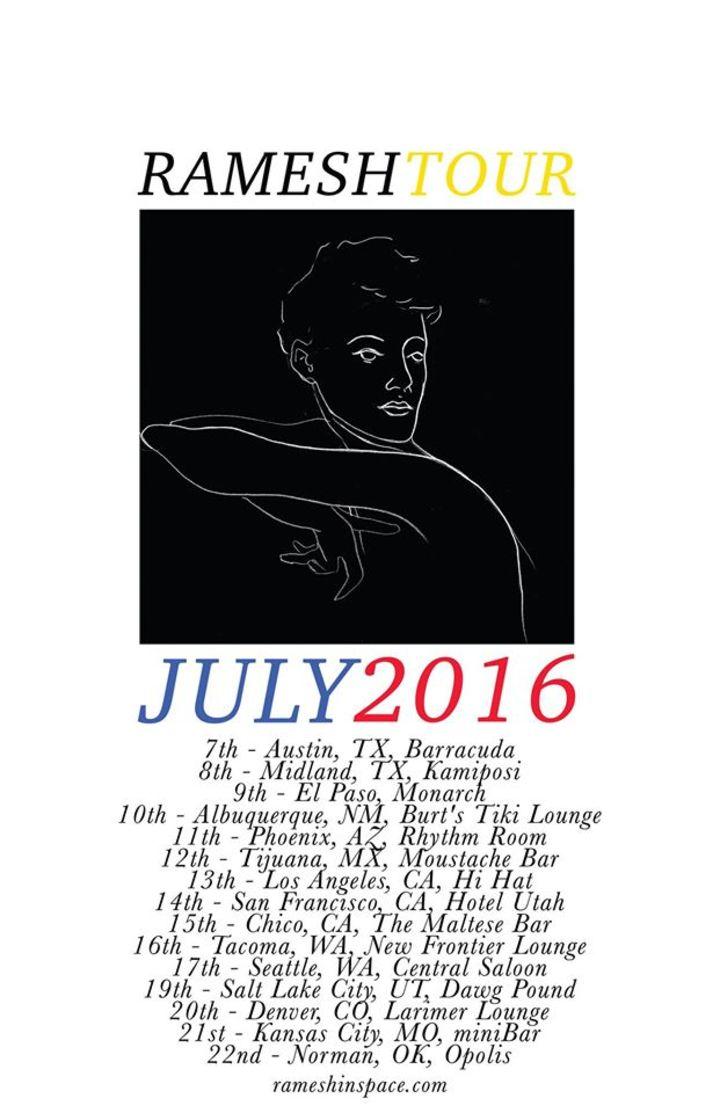 Ramesh Tour Dates