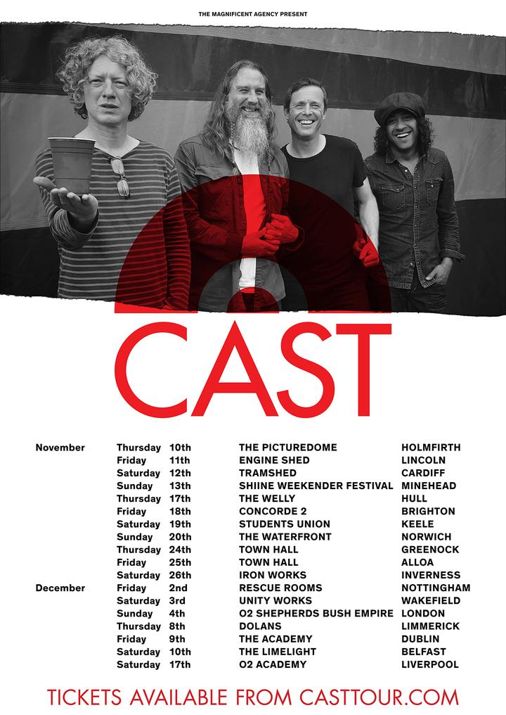 Cast @ Rescue Rooms - Nottingham, United Kingdom