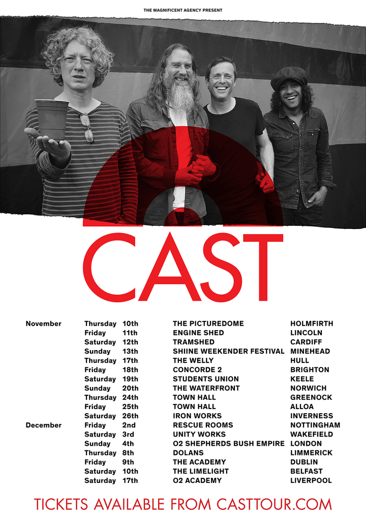 Cast @ The Academy - Dublin, Ireland