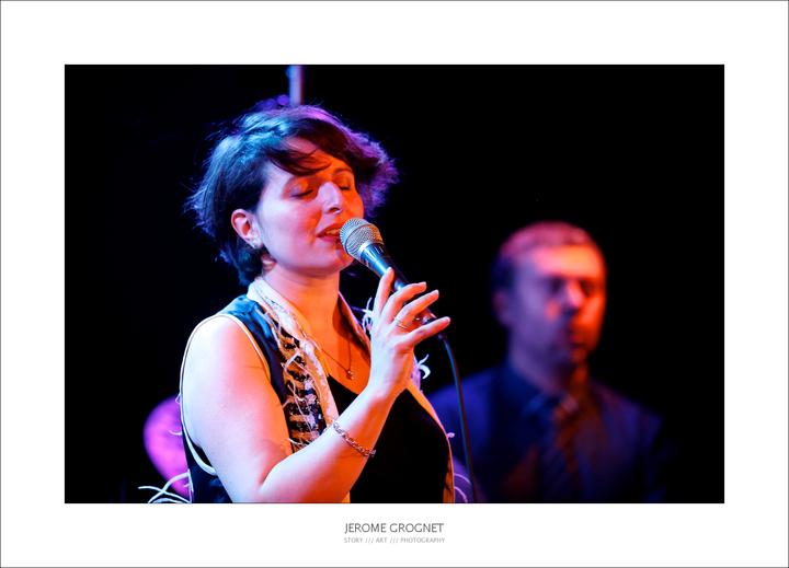 Mélanie Dahan Jazz singer @ espace Malraux - Luisant, France