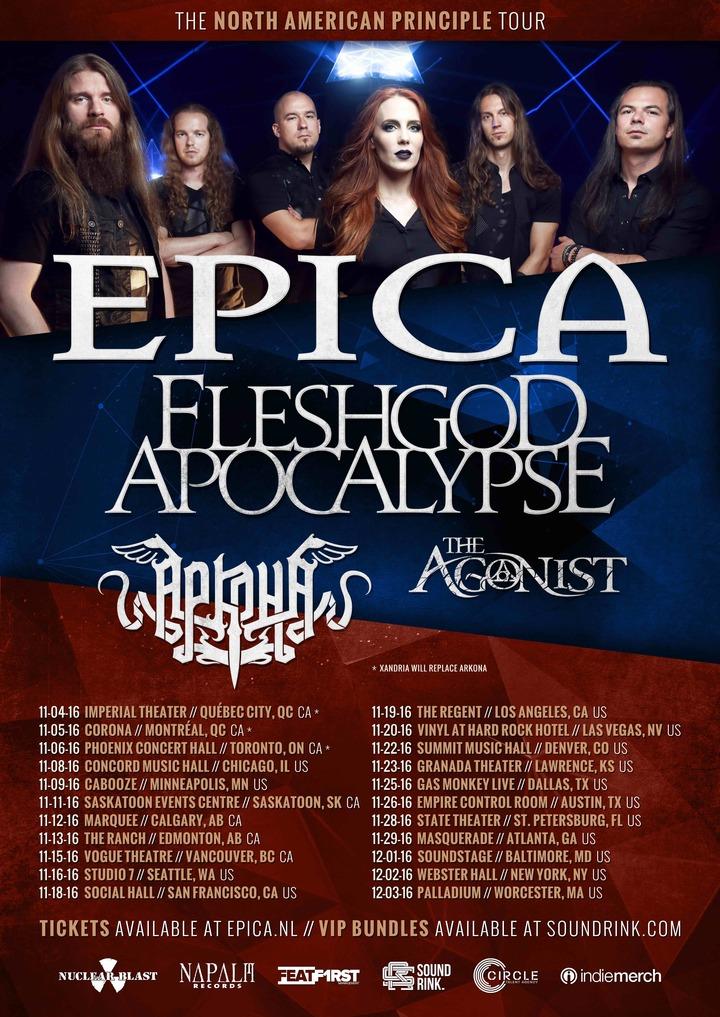 Epica @ Masquerade - Atlanta, GA