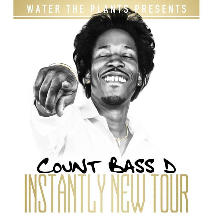 Count Bass D Tour Dates