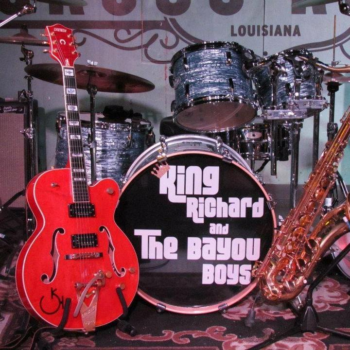 King Richard & the Bayou Boys Tour Dates