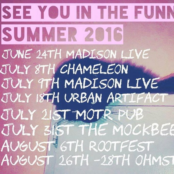 See You in the Funnies Tour Dates