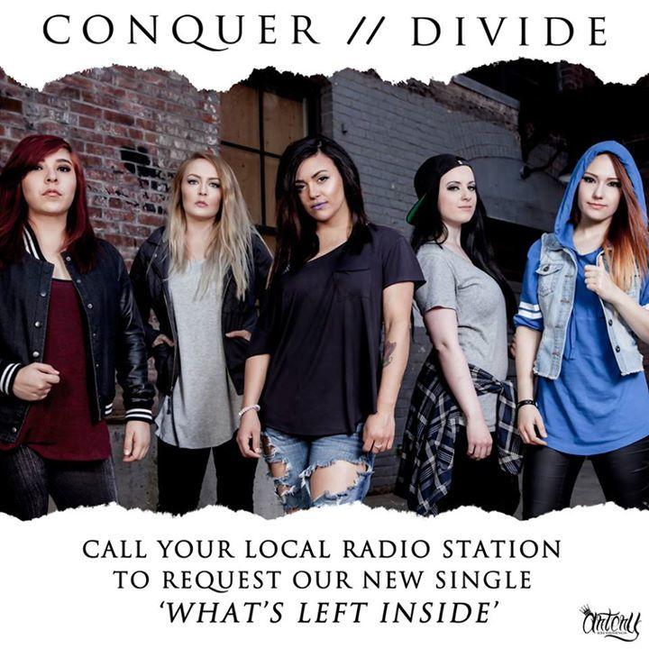 Conquer Divide Tour Dates