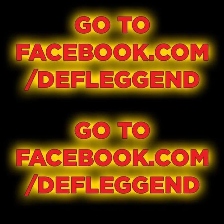 Def Legend Tour Dates