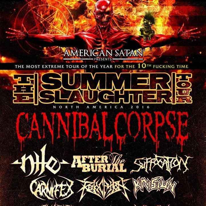 Summer Slaughter Tour Tour Dates