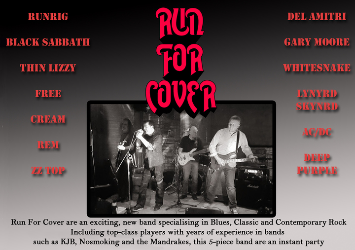 RUN FOR COVER @ the Picture house - Montrose, United Kingdom