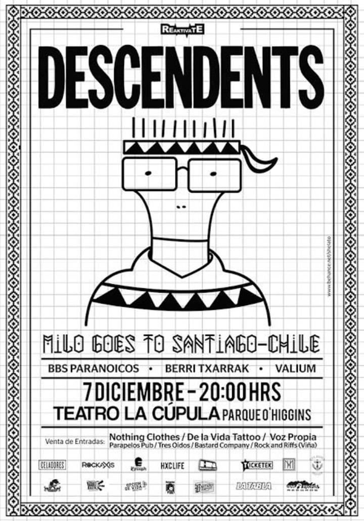 Berri Txarrak @ Teatro La Cúpula - Santiago, Chile