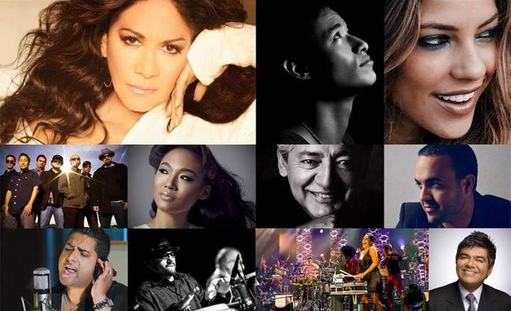 Unity : Latin Tribute to Michael Jackson @ Sheila E.'s Glamorous Life Latin Cruise - Miami, FL