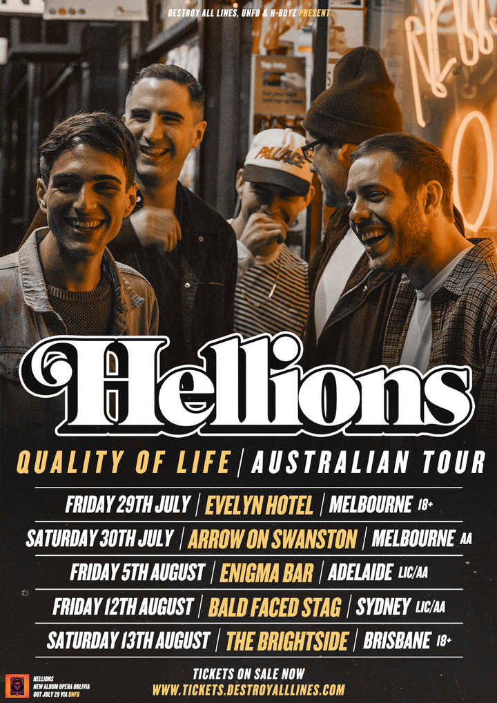 Hellions @ Bar on the Hill - Callaghan Nsw, Australia