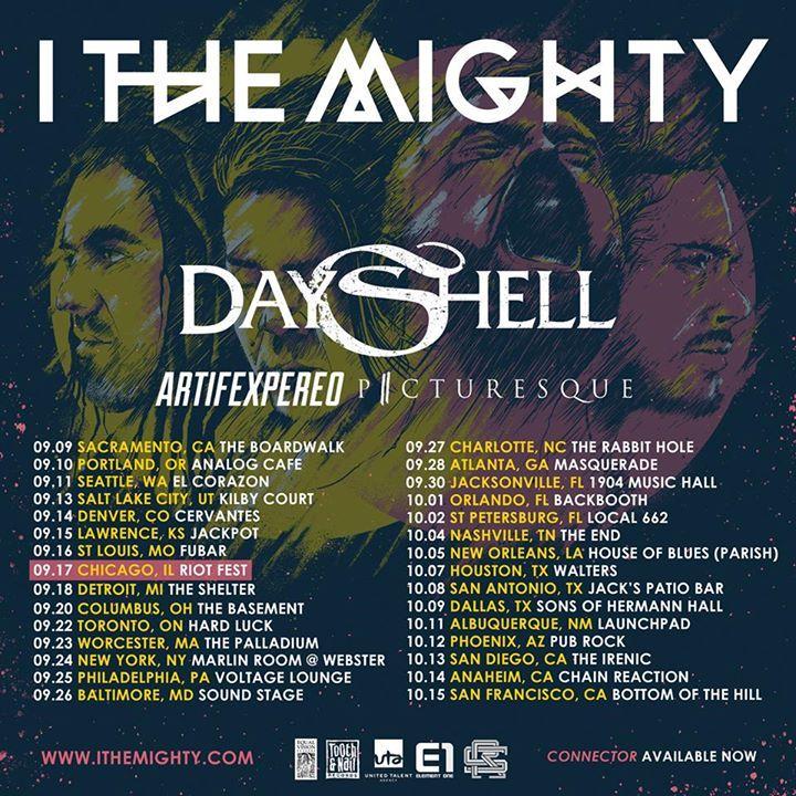 Dayshell Tour Dates