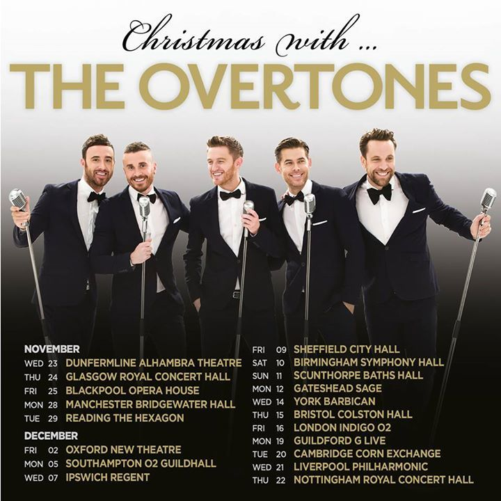 The Overtones @ Cambridge Corn Exchange - Cambridge, United Kingdom