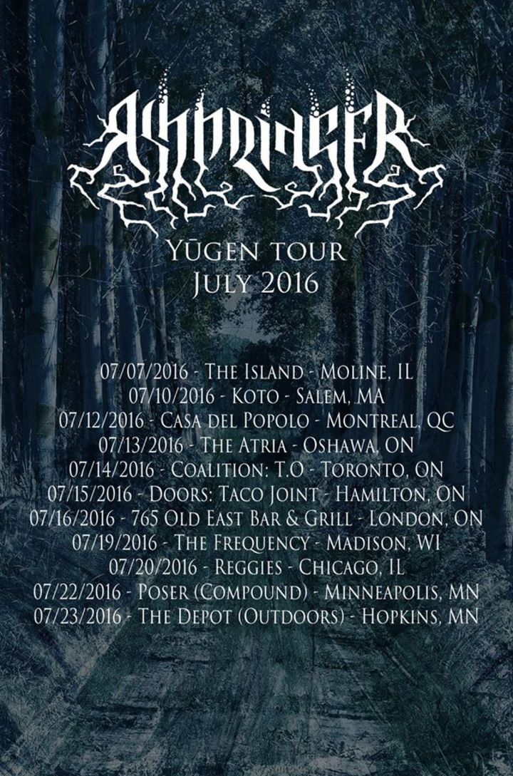 Ashbringer Tour Dates