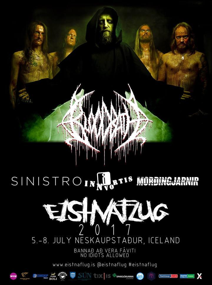 Bloodbath @ Eistnaflug - Fjarðabyggð, Iceland