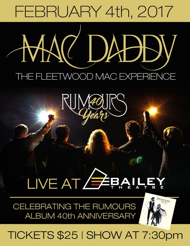Mac Daddy - The Fleetwood Mac Experience @ Bailey Theatre - Camrose, Canada
