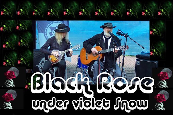 Black Rose under violet Snow Tour Dates