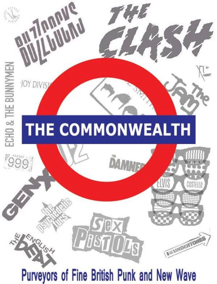 The Commonwealth: Purveyors of Fine British Punk and New Wave Tour Dates