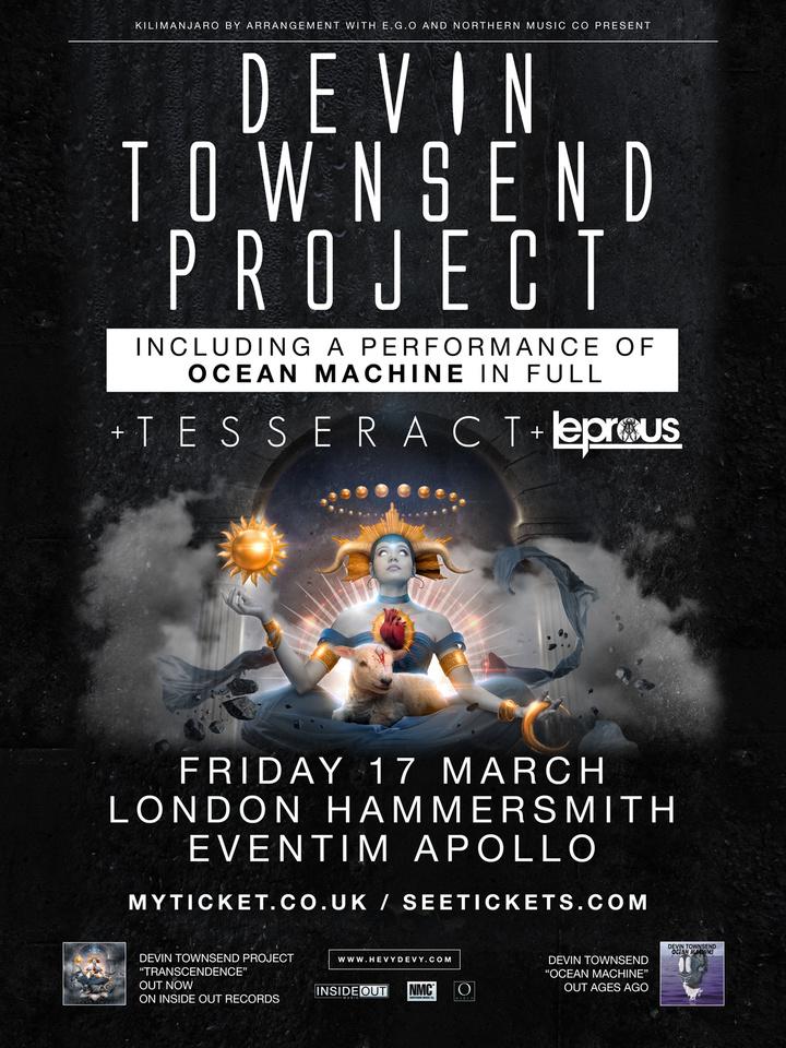 Devin Townsend @ Hammersmith Eventim Apollo - London, United Kingdom