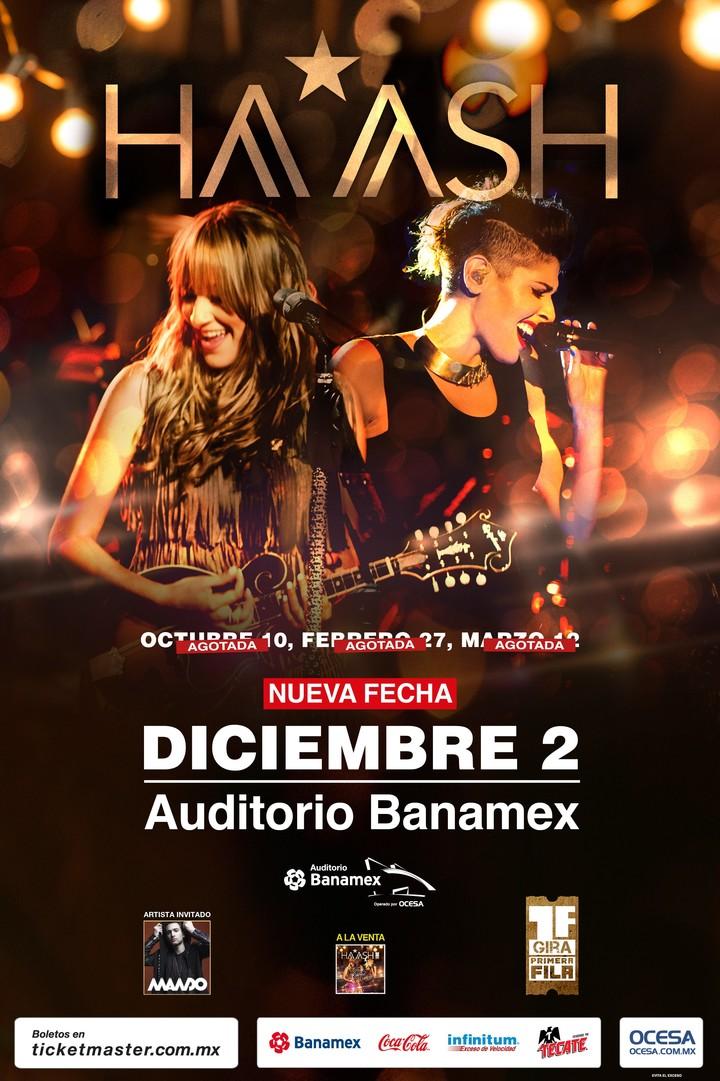 Ha*Ash @ Show Auditorio Banamex - Monterrey, Mexico