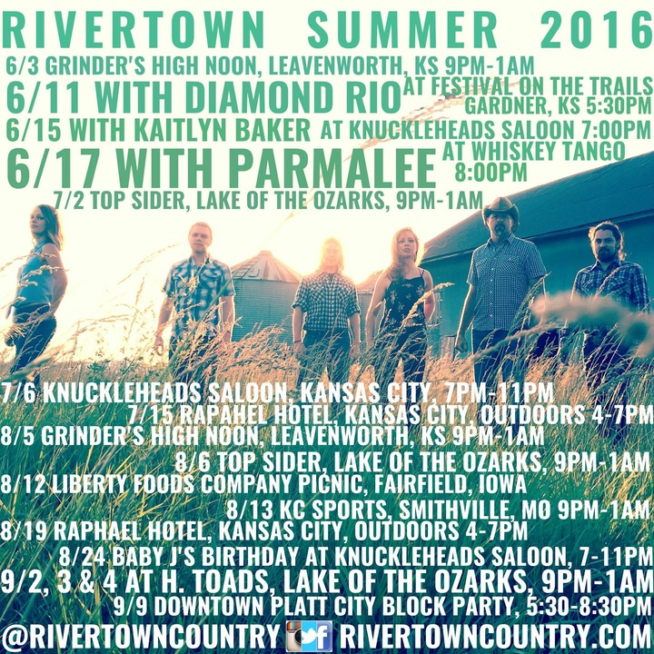 Rivertown Tour Dates
