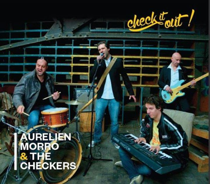 Aurélien Morro & The Checkers @ 1900 - Le Creusot, France