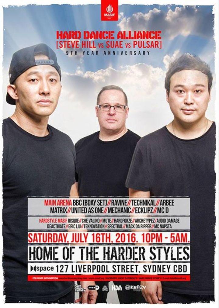 Hard Dance Alliance Tour Dates