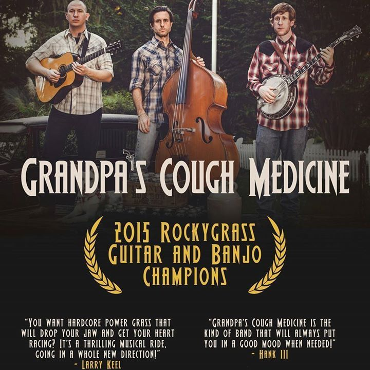 Grandpa's Cough Medicine Tour Dates