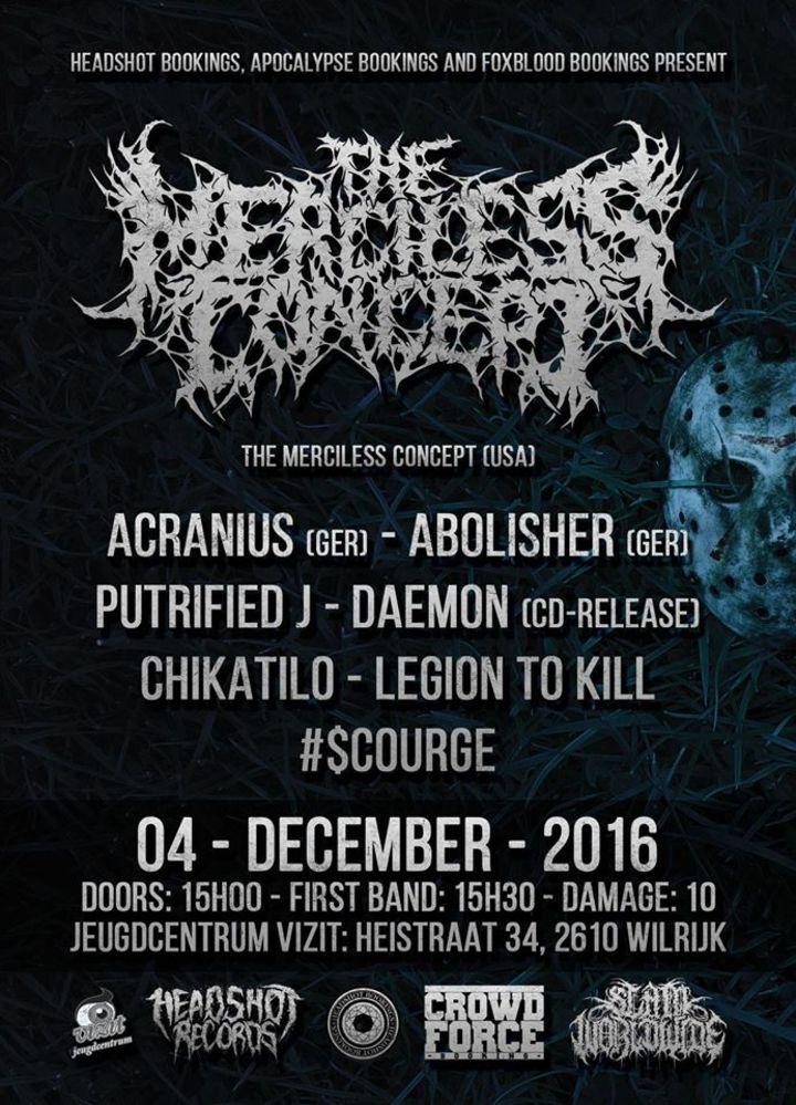 Legion to Kill @ Vizit - Wilrijk (Antwerpen), Belgium