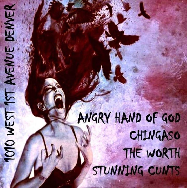 The Angry Hand of God Tour Dates