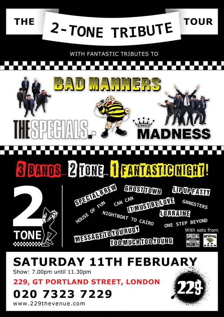 Special Kinda Madness @ 229 The Venue - London, United Kingdom